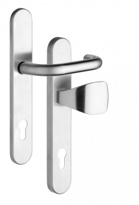 Kování pro profilové dveře/rozteč 92mm