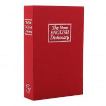 omsafe BOOKCASE červená úschovná kazeta