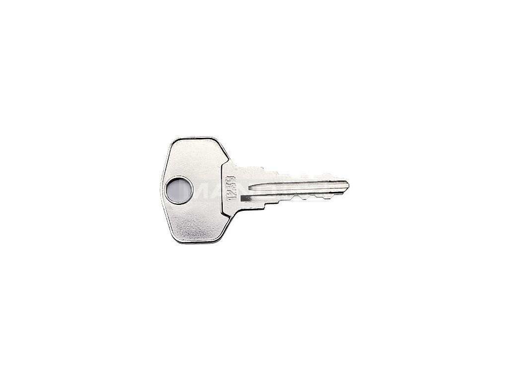 Klíč k visacímu zámku Alfa 50