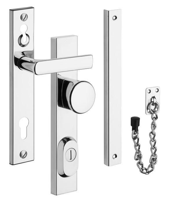 Bezpečnostní kování - R1 s řetízkem