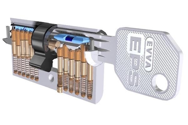 Bezpečnostní vložka EVVA EPS-M