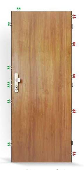Bezpečnostní dveře SHERLOCK EXCELENT F730/4