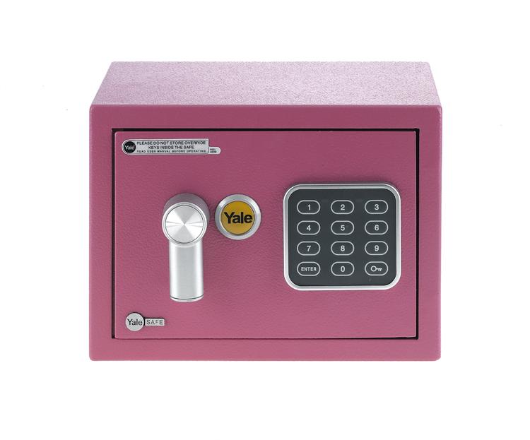 Yale Safe Mini Pink