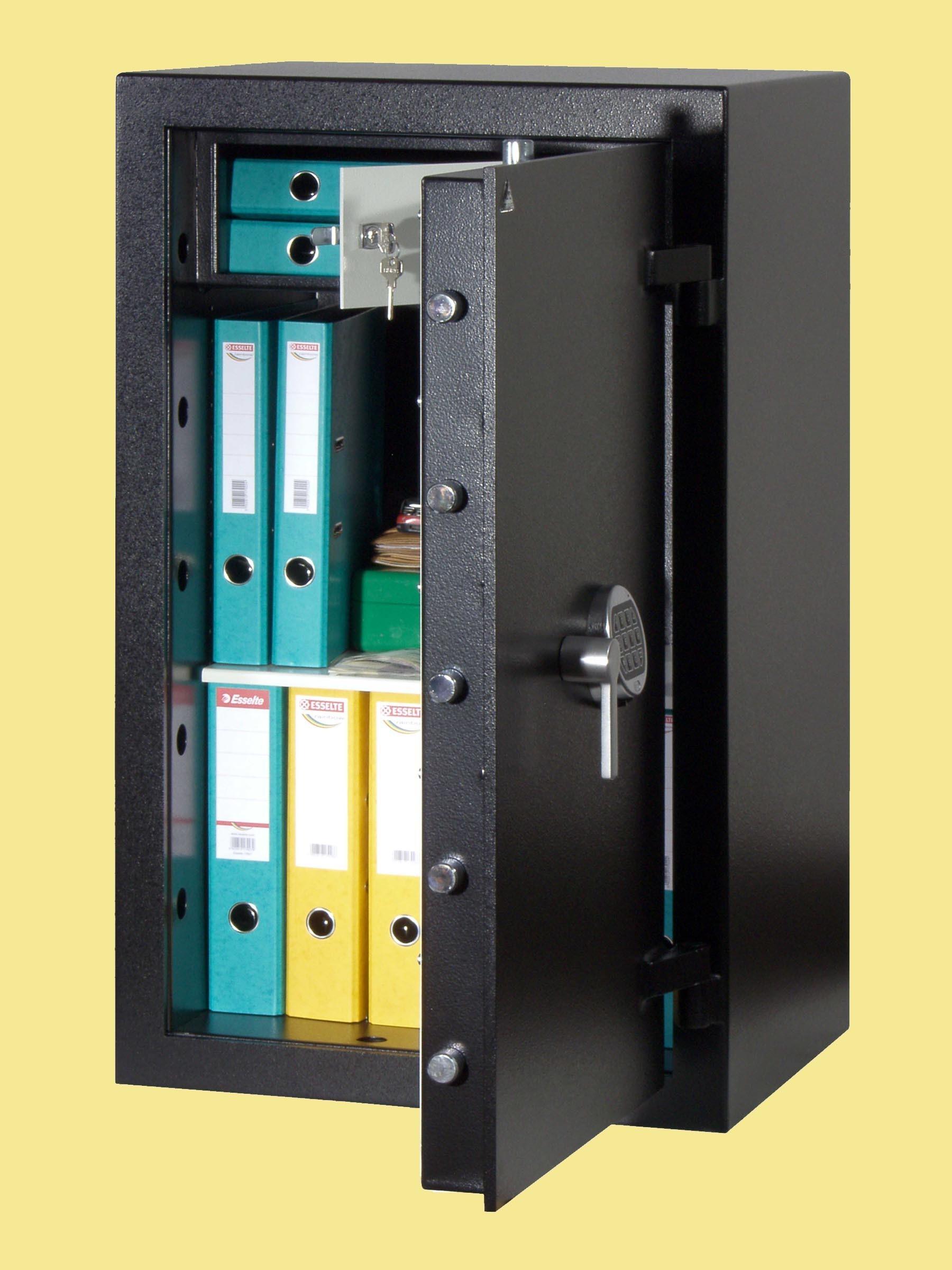 Nábytkový trezor NT19M - klíčový zámek