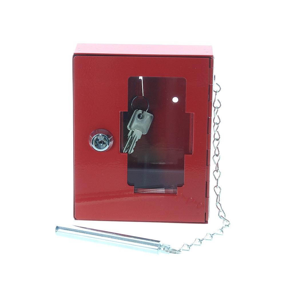 Nouzová skříňka na klíč NSK1 s kladívkem