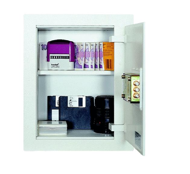 Bezpečnostní schránka stěnová SS2 - jednoplášťová