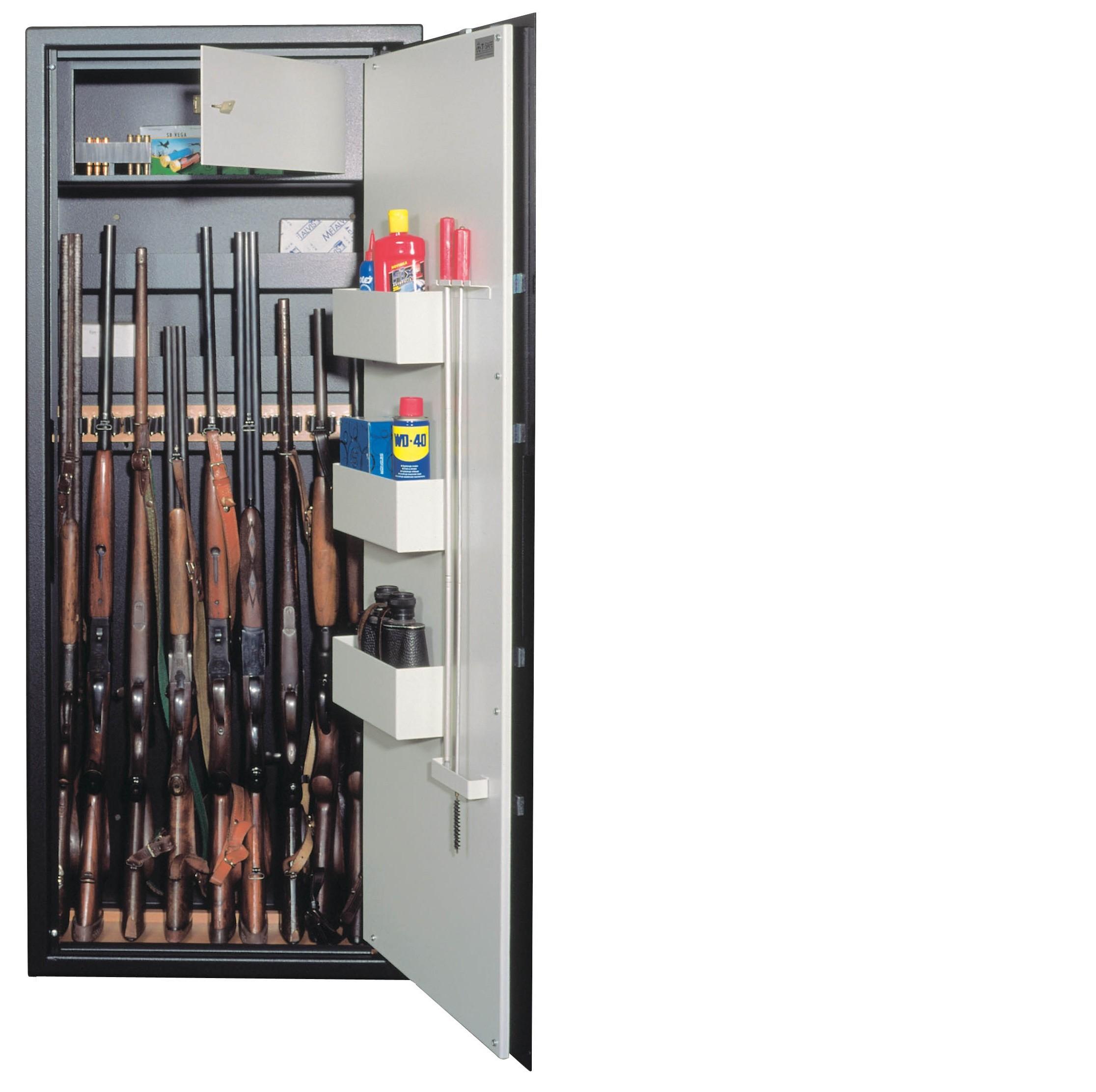 Skříň na zbraně SZ10 s držáky na 7-10ks zbraní