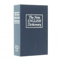 Příruční pokladnička BOOK CASE BLUE
