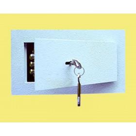 Bezpečnostní schránka stěnová SS1/2 - jednoplášťová