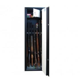 Skříň na zbraně SZ2 - držáky na 6 dlouhých zbraní