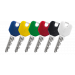 Barevné DESIGN hlavy klíčů EVVA EPS-M