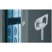 FIREPROFI elektronický zámek s otočnou klikou
