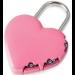 Visací zámek YALE HEART - růžové srdce