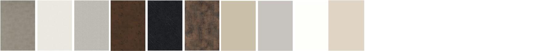 HPL - kompletní nabídka v detailu povrchových úprav: